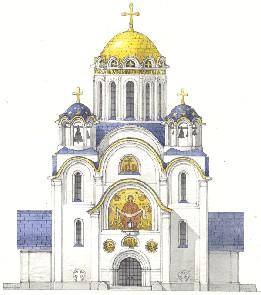 Строительство храма с. Пыщуг